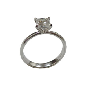 Золотое кольцо с бриллиантом - Ю33605